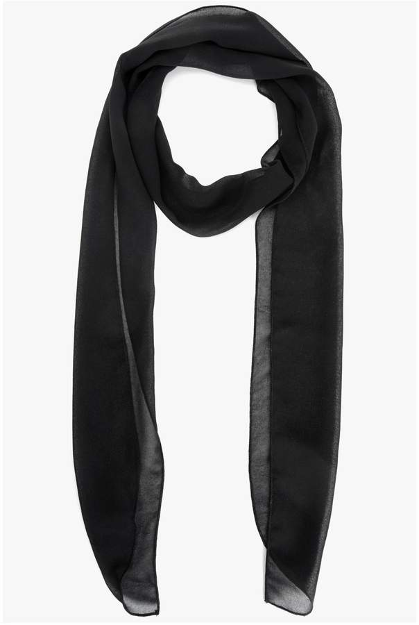7 For All Mankind Neck Scarf in Black