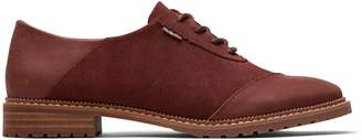 Penny Brown Leather and Suede Women's Ainsley Dress Casuals