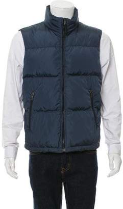 Prada Sport Down Zip-Up Vest