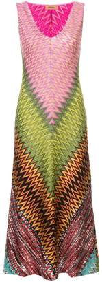 Missoni graphic slim-fit dress