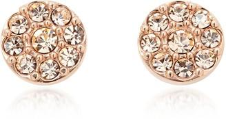 Fossil Vintage Glitz Rose Tone Women's Earrings