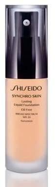 Shiseido Women's Synchro Skin Lasting Liquid Foundation Broad Spectrum SPF 20 - Beige