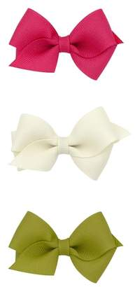 PLH Bows Set of 3 Wee Bow Hair Clips