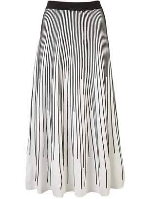 Derek Lam 10 Crosby Striped Knit Skirt