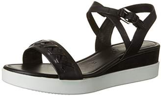 Ecco Women's Women's Touch Braided Plateau Wedge Sandal