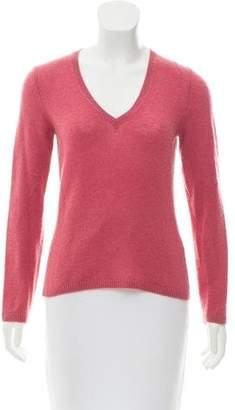 Loro Piana Long Sleeve V-Neck Sweater