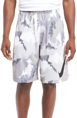 Men's Nike 'Hyperspeed Topo Buzz' Camo Print Dri-Fit Athletic Shorts $45 thestylecure.com
