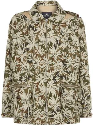 Grenfell Walker Camouflage Hooded Coat