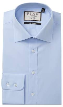 Thomas Pink Weston Pinpoint Slim Fit Dress Shirt