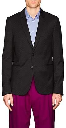 Paul Smith Men's Slim Wool Two-Button Sportcoat - Black