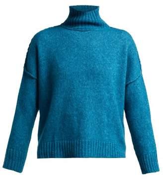 Masscob Michel Roll Neck Sweater - Womens - Green