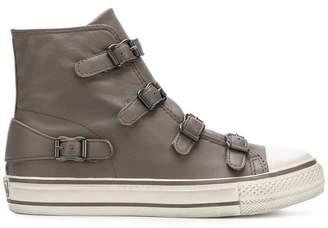Ash Virgin buckled hi-top sneakers