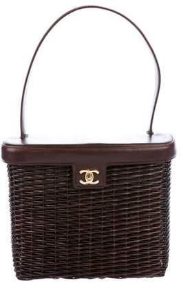 c09b2fbef1bd14 Wicker Basket Bag - ShopStyle