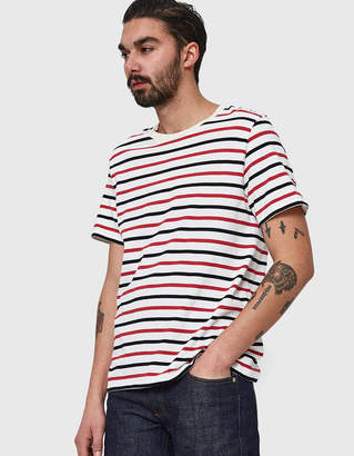 Maison Margiela Cotton Jersey T-Shirt 3-Pack Multi Stripe