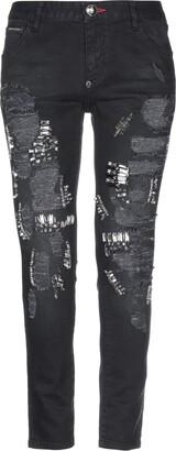 Philipp Plein Denim pants - Item 42730216MK