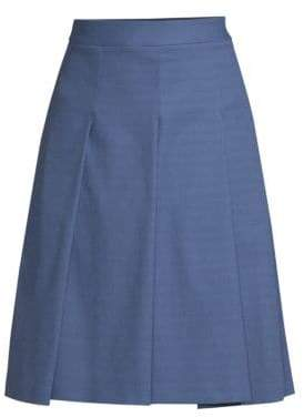 Piazza Sempione Pleated Flared Skirt