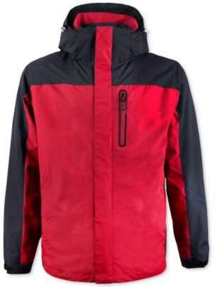 Hawke & Co Men's Big & Tall Wind-Stopper Hooded Jacket