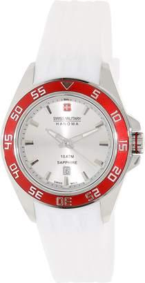 Swiss Military Hanowa Women's Sword SM06-6221.04.001.04 Silicone Swiss Quartz Fashion Watch