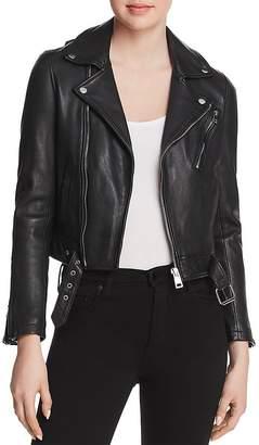 Maje Bostep Leather Jacket - 100% Exclusive