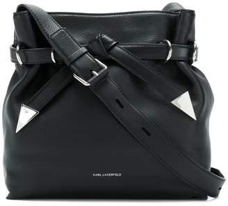 Karl Lagerfeld K/Rocky bow shoulder bag