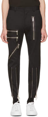 DSQUARED2 Black Bondage Trousers