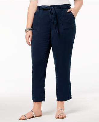 Style&Co. Style & Co Plus Size High-Rise Soft Pants, Created for Macy's