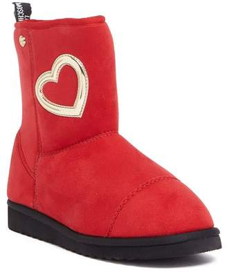 Love Moschino Heart Applique Slip-On Low Boot