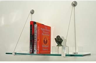 Spancraft Glass Floating Glass Wall Shelf