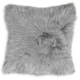 Mitchell Gold Bob Williams Alpaca Silver Pillow, 20 x 20