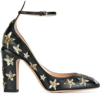 Valentino Garavani 'Star Studded' pumps $1,395 thestylecure.com
