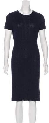 Ralph Lauren Black Label Knit Knee-Length Dress
