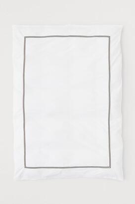 H&M Cotton Percale Duvet Cover