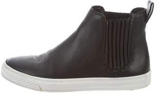 Loeffler Randall Leather Slip-On Sneakers