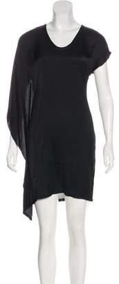Helmut Lang Draped Mini Dress w/ Tags