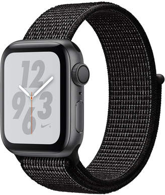Apple Watch Nike+ Series 4 Gps, 40mm Space Gray Aluminum Case with Black Nike Sport Loop