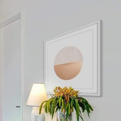 Wayfair 'Sunset Horizon II' Framed Watercolor Painting Print