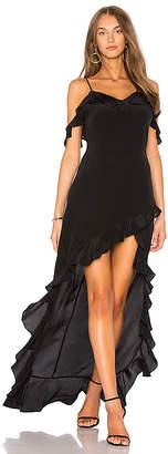 Amanda Uprichard Peony Maxi Dress