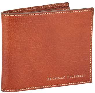 Brunello Cucinelli Leather Bifold Wallet