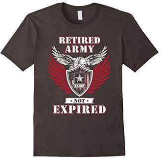 Retired Army Not Expired Tshirt