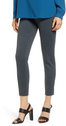 Anne Klein Herringbone Knit Skinny Pants