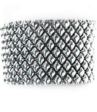 """Liquid Metal Sg B Silver Mesh Bracelet in 7"""", 7 1/2"""" or 8"""""""