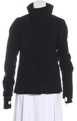 Prada Sport Long Sleeve Stand Collar Jacket