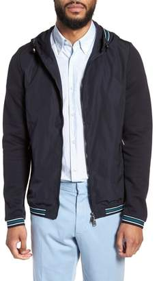 BOSS Sibly Slim Fit Jersey Hooded Jacket