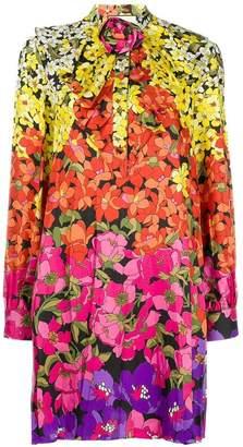 Gucci floral-print bow dress