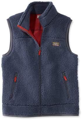 L.L. Bean L.L.Bean Mountain Pile Fleece Vest, Men's