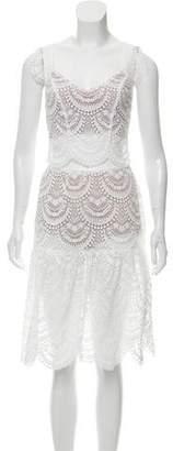 For Love & Lemons Lace Skirt Set
