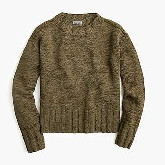 J.Crew Wide-rib crewneck sweater
