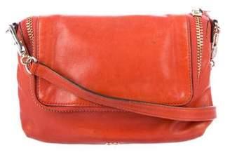Anya Hindmarch Leather Flap Crossbody Bag
