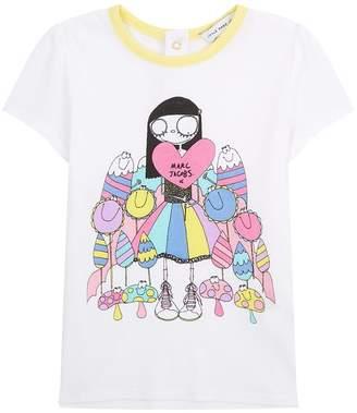 Marc Jacobs Flower Girl Printed T-Shirt