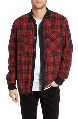 Diesel R) D-WEAR-C Reversible Shirt Jacket